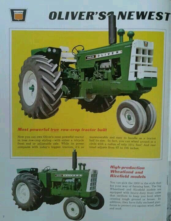 17 Best Images About Oliver Mm White On Pinterest Old Tractors Boss And Magazine Ads