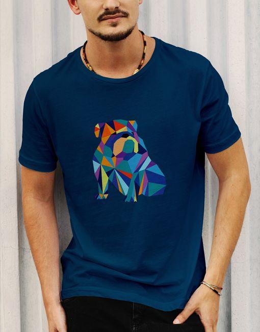 Bull dog design #design #tshirt #animal