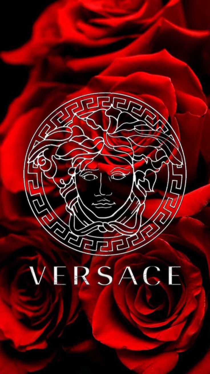 Red Versace in 2020 Cute wallpaper backgrounds, Versace