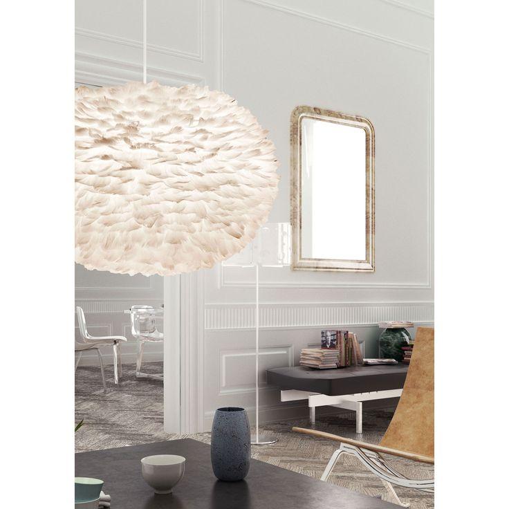 vita fjäderlampa | Hem / Belysning / Lampor / Taklampor / Eos fjäderlampa pendel, XL ...