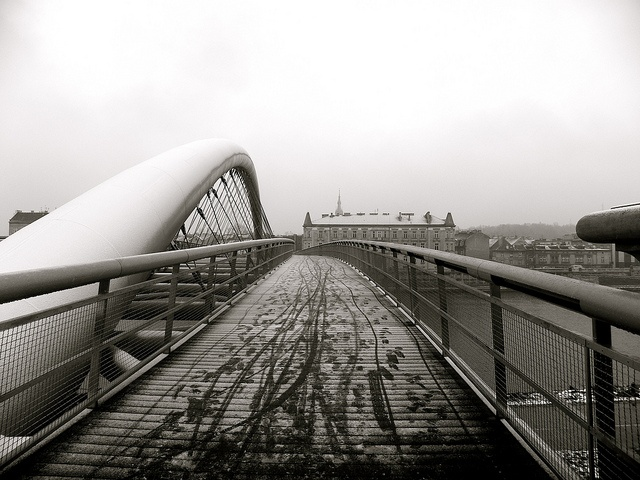 It's not so hard to cross the bridge, it all depends on who's waiting for you on the other side., via Flickr.