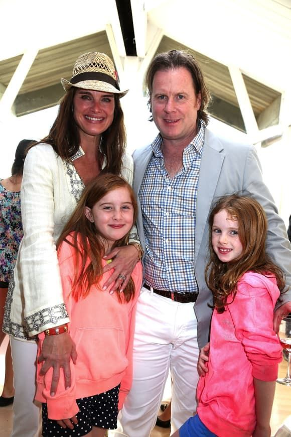 The Most Adorable Celebrity Families With Images Brooke