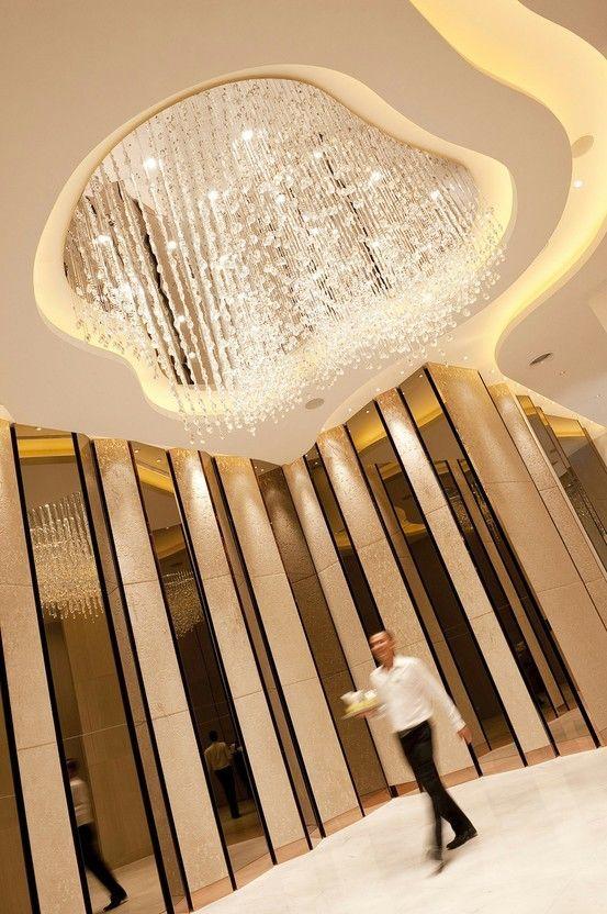 Ceiling Design, Bangkok Thailand, Hotel Lobby, Hotel Ballrooms, Interior Ballroom, Ballroom Prefunction