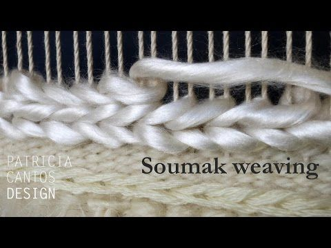 Soumak weaving - Weaving lessons for beginners - YouTube