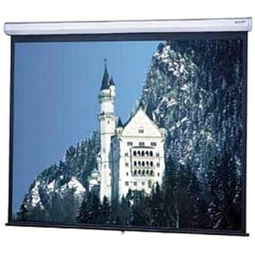 Da Lite Model C Manual Wall And Ceiling Projection Screen 96 Inch X 96 Inch Matte White 136 Inch Diagonal 40252 Projection Screen Sound Stage Manual