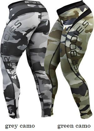 BETTER BODIES - CAMO LONG TIGHTS