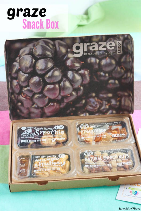 Graze Snack Box - Are you looking for the perfect afternoon snack? Check out my review of the Graze Snack Box.