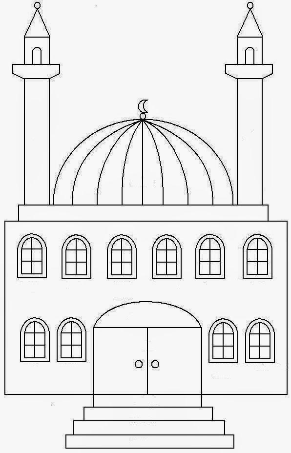 Cami Boyama Camiler Okul Oncesi Okul Oncesi Fikirleri