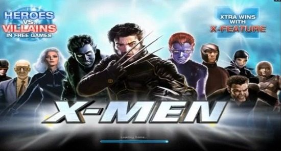 #X-Men #Slots Machine