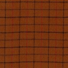 Primo Plaid Flannel Fabric Squares - Harvest Gold
