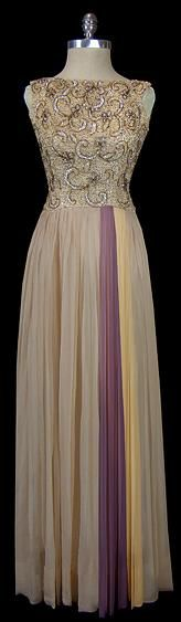 1950s Norman Hartnell dress via The Frock