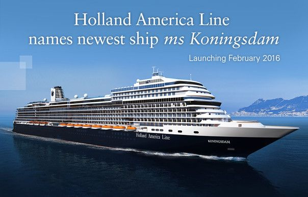 The new Pinnacle Class ship, ms Koningsdam, represents more modern times for Holland America Line.