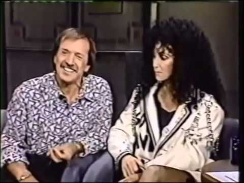 Cher With Sonny On The David Letterman Show 1987 - YouTube