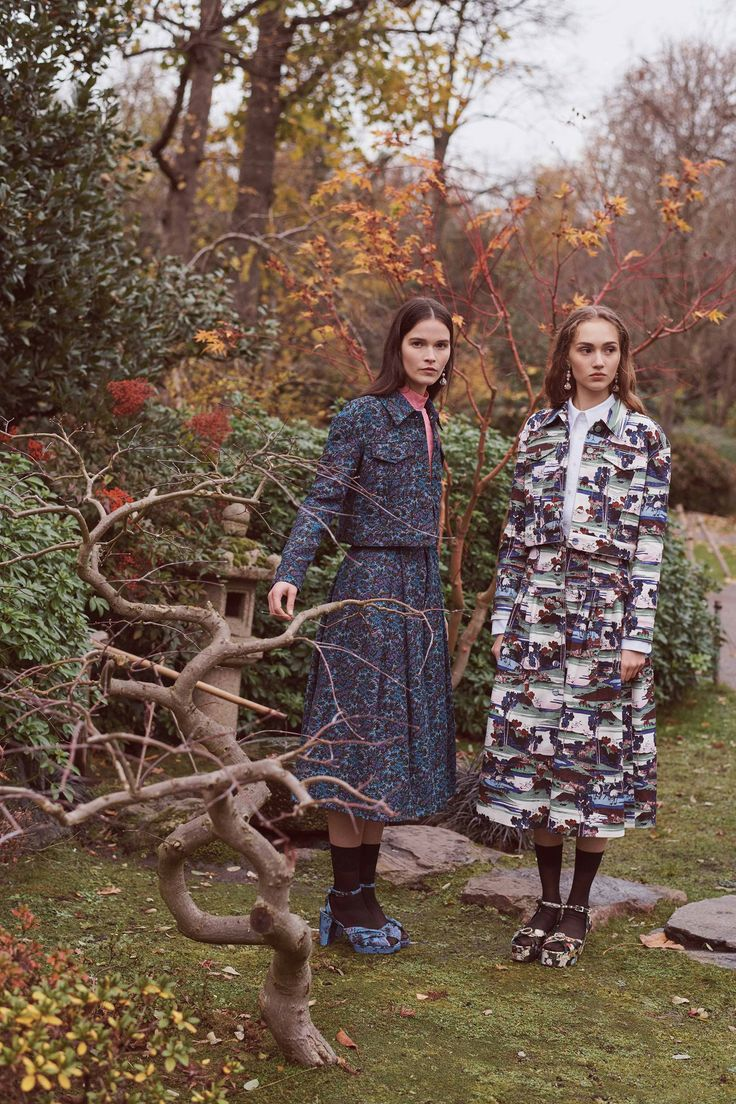 Erdem Pre-Fall 2018 Fashion Show