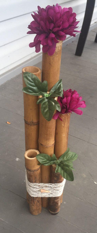 Bamboo Wedding Centerpieces by JovelWeddingCreation on Etsy