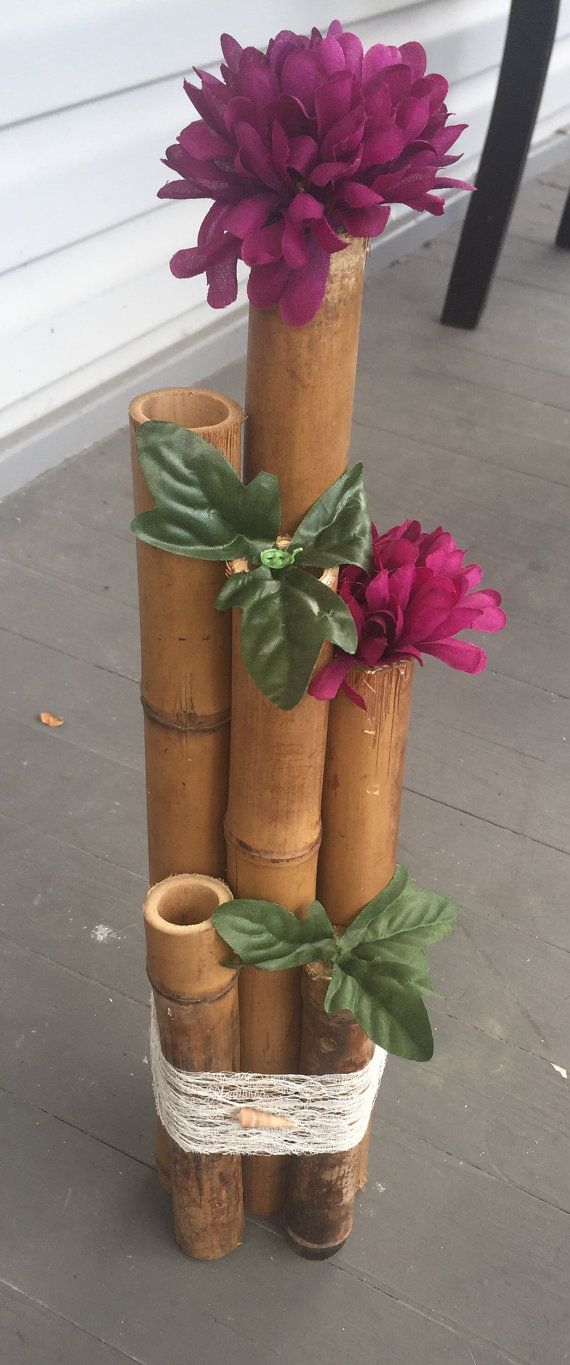 Bamboo Wedding Centerpieces by JovelWeddingCreation on Etsy