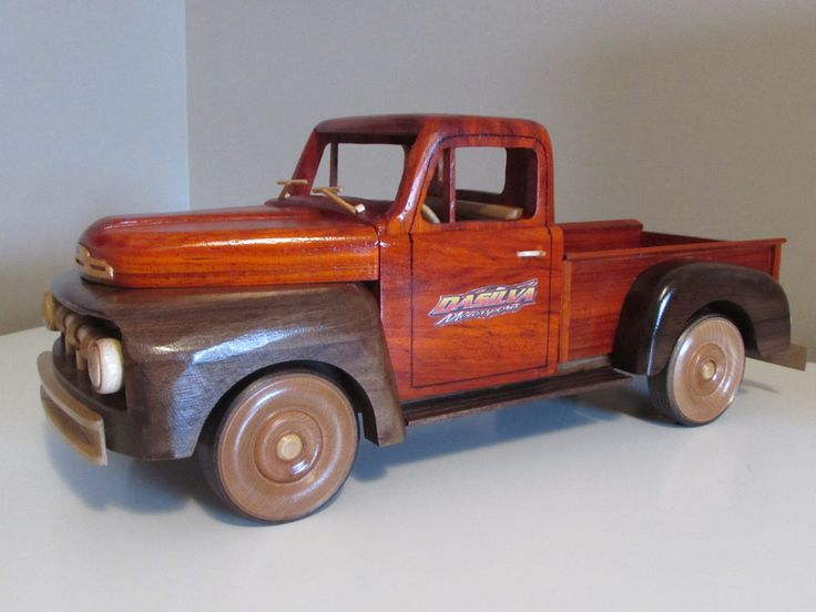 Fresh out of the sawdust factory: 51 Ford F-1 Pickup truck - by toyguy @ LumberJocks.com ~ woodworking community