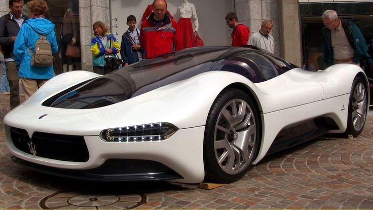 Maserati Birdcage 75th Anniversary Concept Car