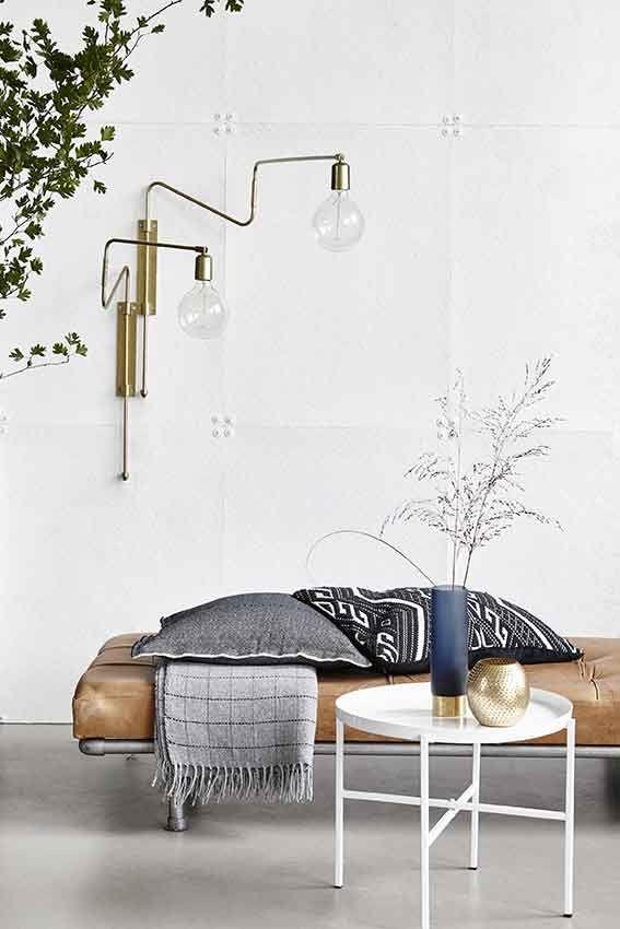 Swing Wall Light - Brass - Trouva