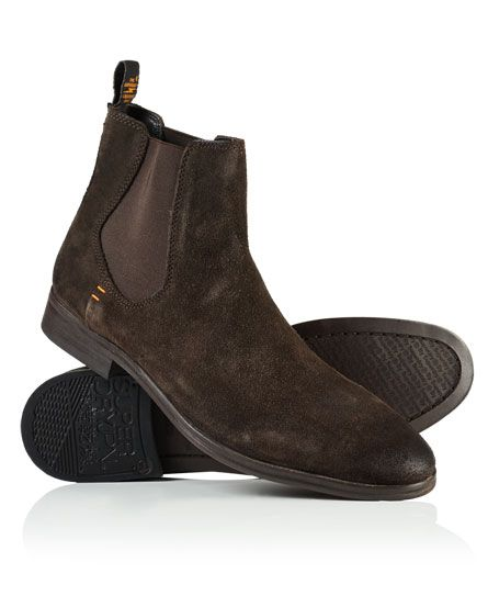 Superdry Meteora Chelsea Boots Brown