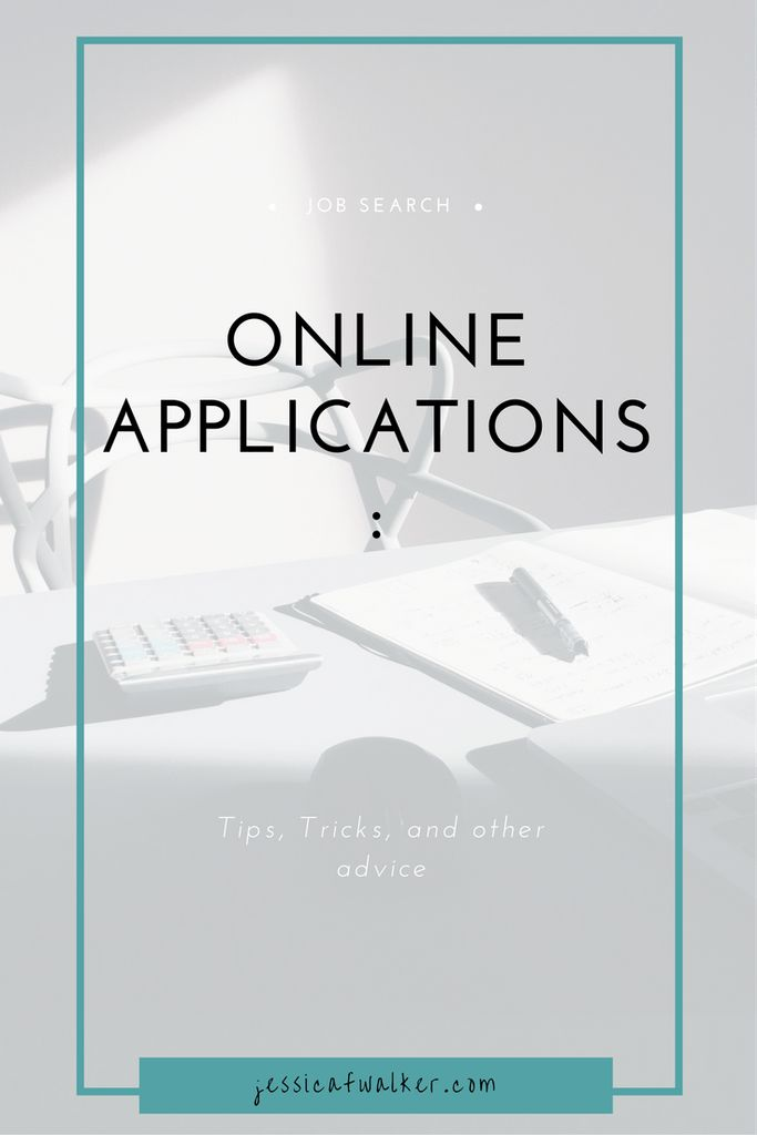 Online Applications: Tips, Tricks, Advice | employment | jobs search | job hunting | career coach | Catapult Your Career | jessicafwalker.com | gratitude | empowerment| success |