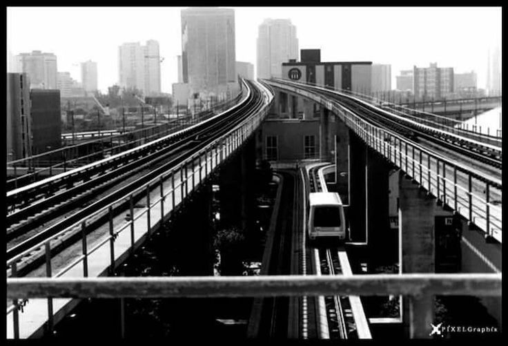 Miami, FL Miami Metro Rail Railwaystation Blackandwhite Photography Pixelgraphix