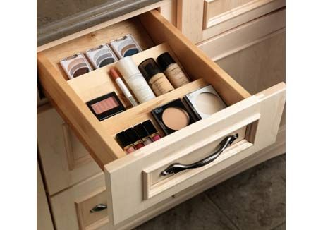 1000 images about chic organized makeup drawers on pinterest for How to organize bathroom drawers