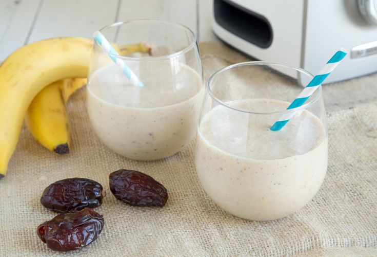 Banana, Date and Nut Smoothie | Nadia Lim