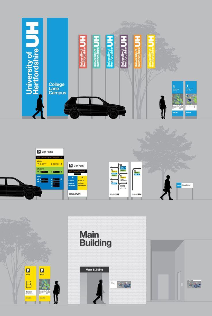 25 best ideas about signage design on pinterest sign for Exterior signage design