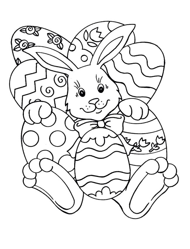 Easter Coloring Pages | easter_coloring_pages_9 | Coloring-Easter ...