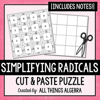 68 best Algebra activites images on Pinterest | Math ...