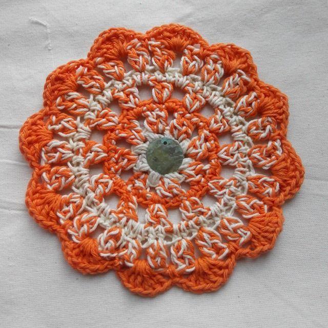 Orange in color