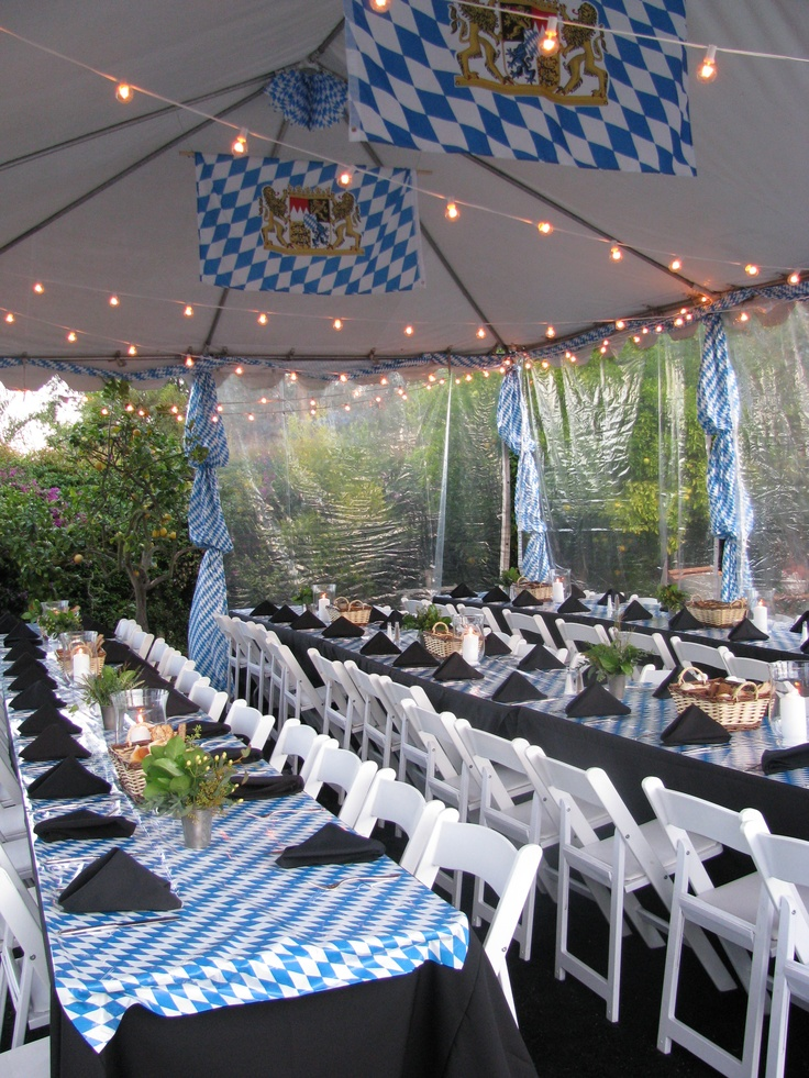Oktoberfest Party Decoration Bavarian Banner