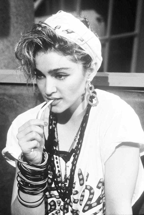 Madonna influenced a legion of young women in the 80s to experiment with their style.