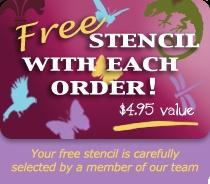 Wall painting stencils: Elegant wall stencils, stencil designs, stencils for walls. Cutting Edge Stencils.