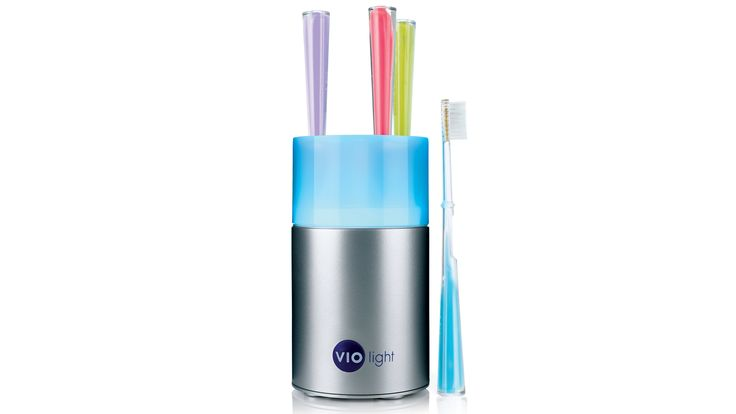 Countertop Toothbrush Sanitizer.: Products Noob, Toothbrush Sanitizer Tots, Countertops Toothbrush, Counters Tops, Products Clev, Products To Di