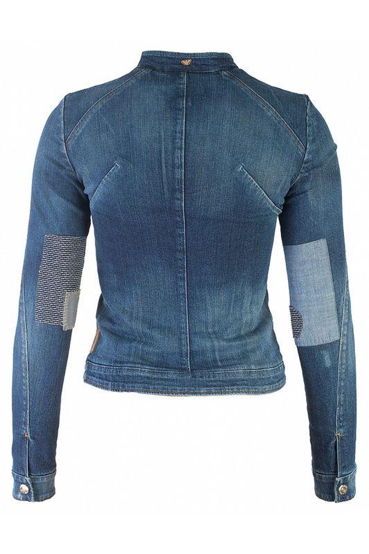5cf7440d125a Куртка Armani Jeans (Армани Джинс) арт 67215 купить в интернет магазине,  цена и
