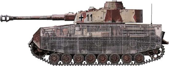 P-IV Unbekannt [Deutschland, Mai 1945], non familiar markings and a partially completed tank.  Late War production.