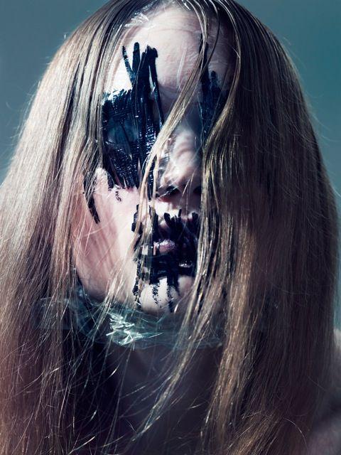 Mascular Magazine - Makeup: Elva Ahlbin Photo: John Gripenholm Hair: Aliina Jun Styling: Christoffer Insulander