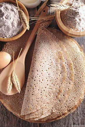 Pâte à crêpes au sarrasin : Une pâte à crêpes idéale pour toutes vos garnitures salées !