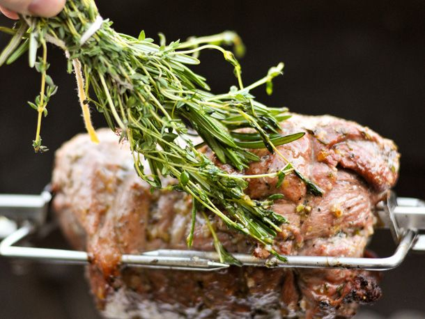 Boneless Leg Of Lamb With Rosemary And Garlic Recipe — Dishmaps