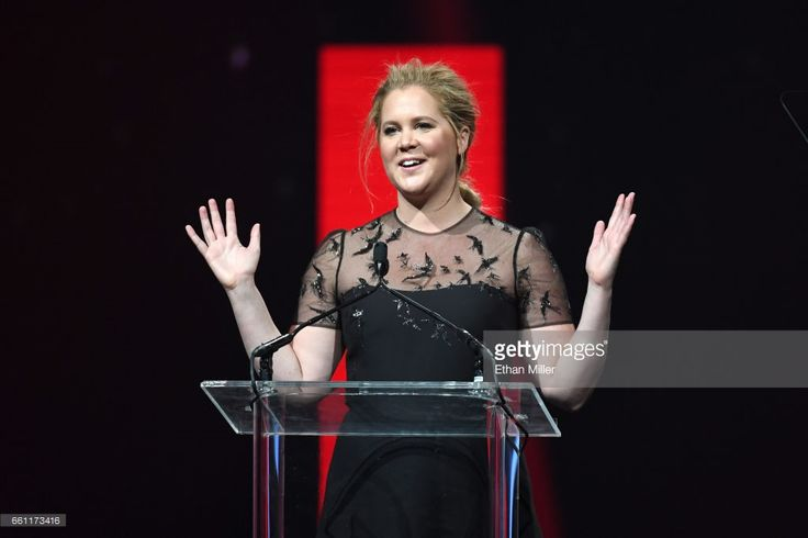 Actress/comedian Amy Schumer introduces Cinema Icon Award winner Goldie Hawn (not pictured) during the CinemaCon Big Screen Achievement Awards brought to you by the Coca-Cola Company at The Colosseum at Caesars Palace during CinemaCon, the official convention of the National Association of Theatre Owners, on March 30, 2017 in Las Vegas, Nevada.