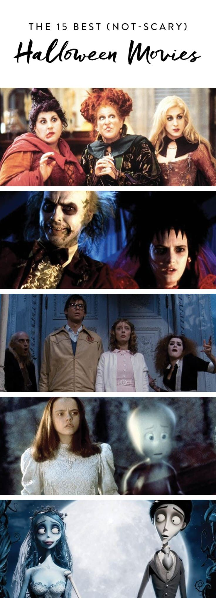 The 15 Best (Not Scary) Halloween Movies  via @PureWow
