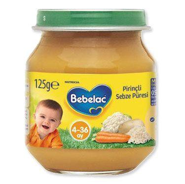 Bebelac Kavanoz Maması Pirinçli Sebze Püresi bebeklerin 4. ayından sonra kullanılan sebze püresidir. Bebelac Kavanoz Maması Pirinçli Sebze Püresi içersindeki Havuç, karnabahar, patates, maydanoz, kereviz, pirinç ve pırasa gibi sebzeler sayesinde bebeğinizin gelişimine yardımcı bir ek gıda altarnetifidir. Bebelac Kavanoz Maması Pirinçli Sebze Püresi bebeğinizin yutma yeteneğini geliştirmeye yardımcı olan bir kavanoz mamasıdır.