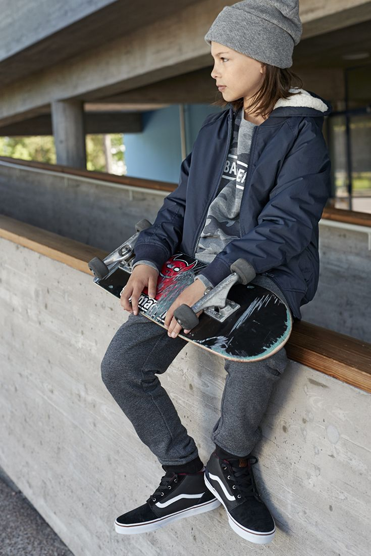 This autumn it's all about the skater boy. This look from CUBE and much more at Stockmann's. #stockmann #inspiroidu