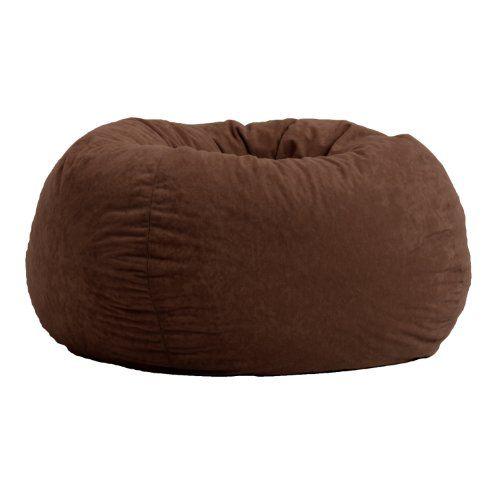 Amazon.com - Cozy Sack 6-Feet Bean Bag Chair, Large, Earth - The Cozy Sac