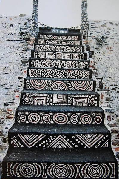 Een trap.