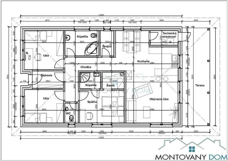 Bungalov Nela   Montovaný dom
