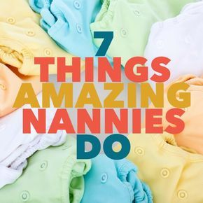 What do you really need from a nanny?