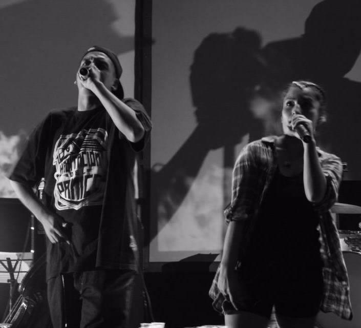 Ana and Hordatoj. Rap chileno